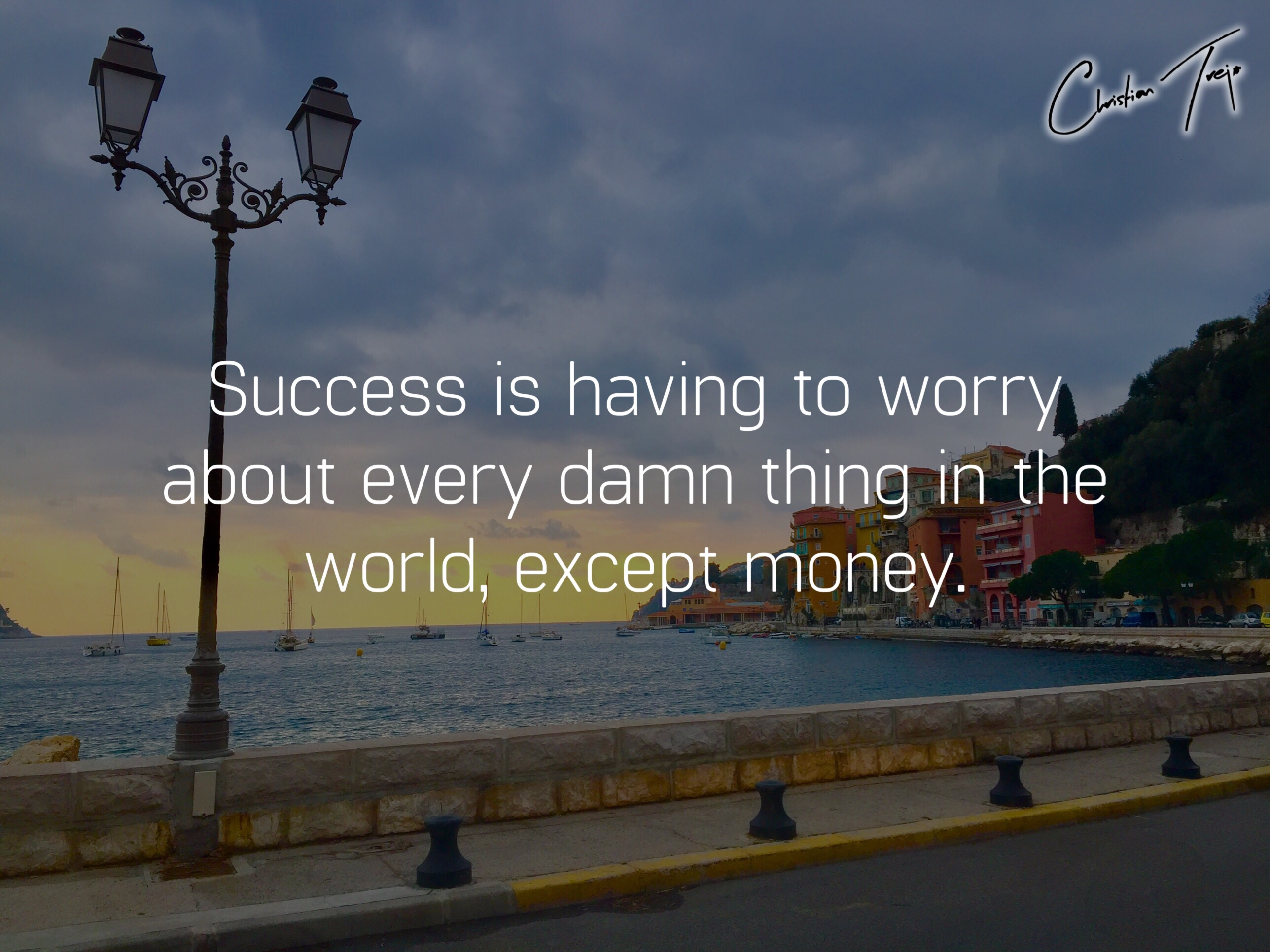 When To Worry About Money?